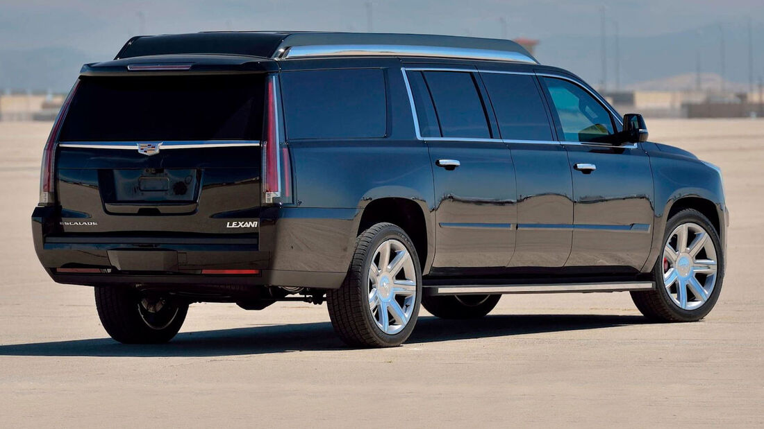07/2019, Lexani Cadillac Escalade Stretch-Version
