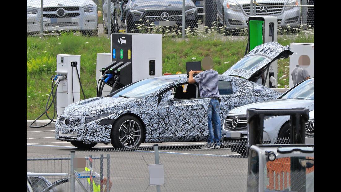 07/2019, Mercedes EQS Erlkönig