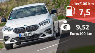 07/2020, BMW 218i Gran Coupe Kosten Realverbrauch