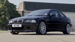 07/2020, BMW M3 E46 CSL mit Schaltgetriebe