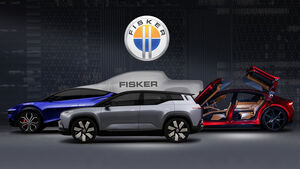 07/2020, Fisker Modellpalette Alaska Pickup Teaser