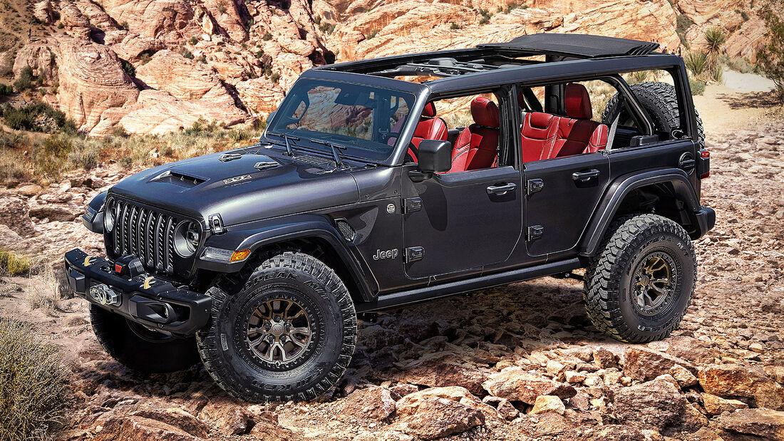 07/2020, Jeep Wrangler Rubicon 392 Concept