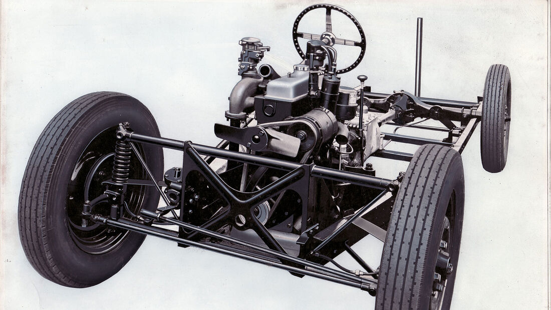 07/2020, Morgan Stahl-Chassis Historie