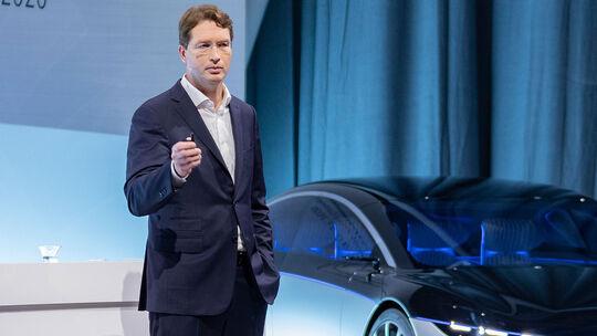 07/2020, Ola Källenius Daimler Mercedes CEO Chef
