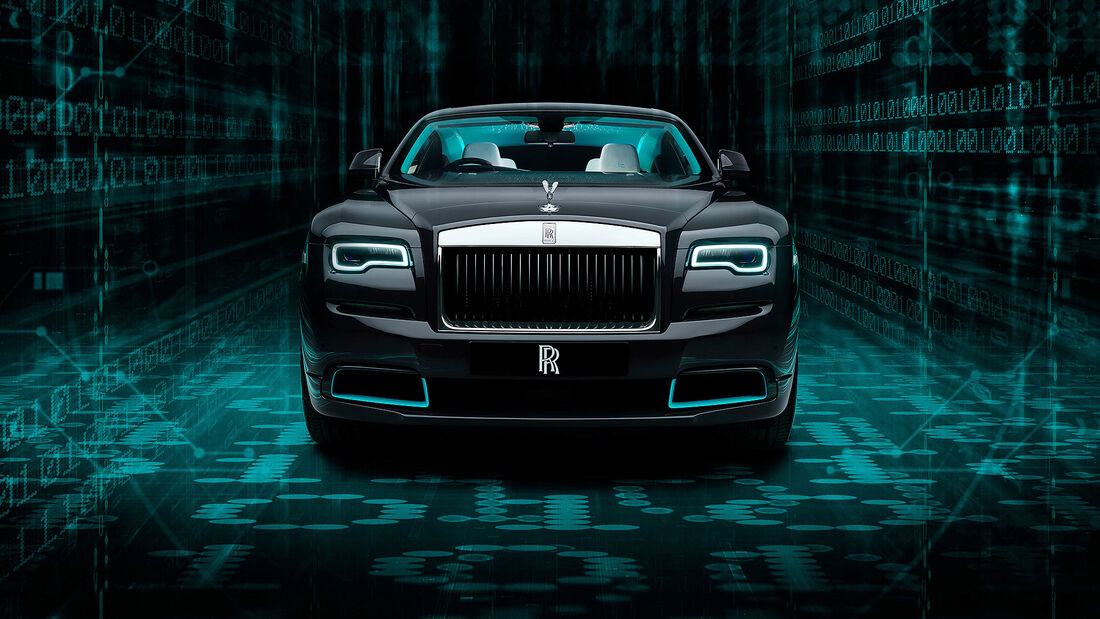 07/2020, Rolls-Royce Wraith Kryptos Collection