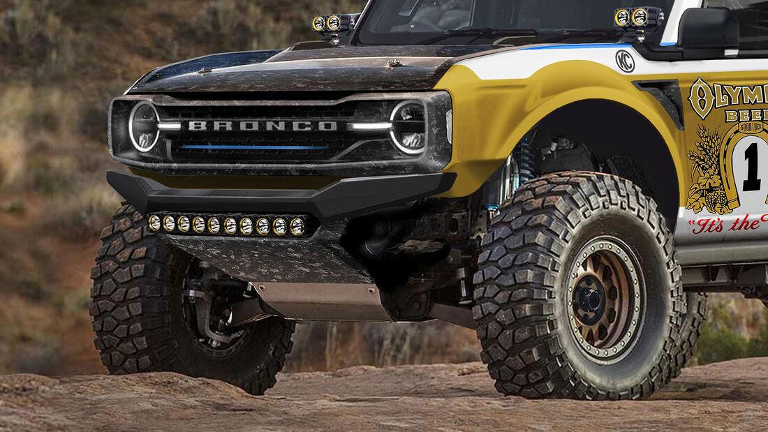 07/2020, Saleen Ford Bronco Baja Tuning