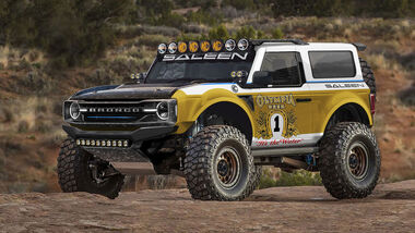 07/2020, Saleen Ford Bronco Baja Tuning