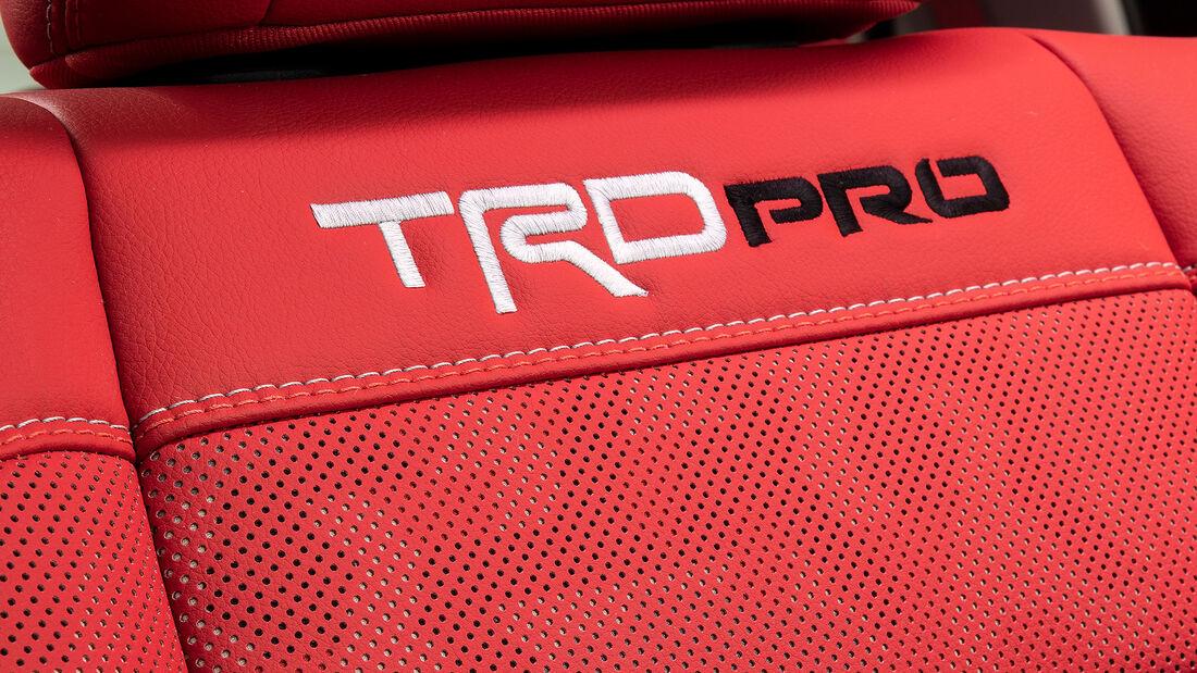 07/2021, 2022 Toyota Tundra Innenraum