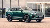 07/2021, Bentley Bentayga mit 22 Zoll Karbon Rädern