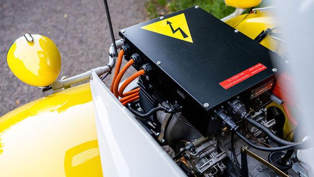 07/2021, Citroen 2cEv Ente mit Elektroantrieb