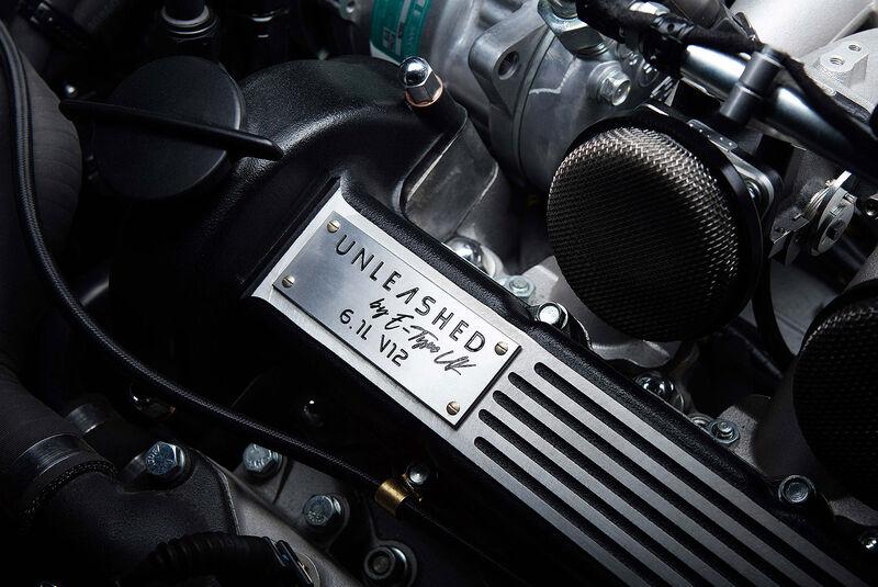 07/2021, E-Type UK Unleashed auf Basis Jaguar E-Type Series 3 V12