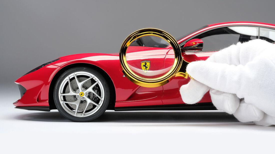 07/2021, Ferrari Bespoke Modelle von Amalgam