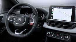 07/2021, Fiat Pulse Brasilien Interieur