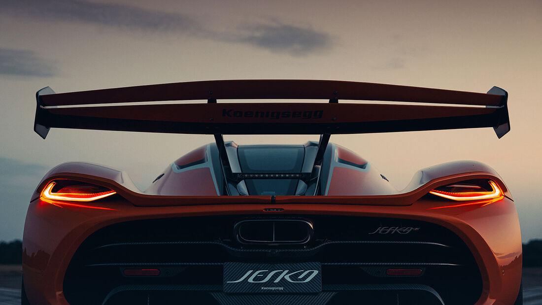 07/2021, Koenigsegg Jesko Seriennummer 1/125