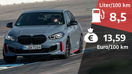 07/2021, Kosten und Realverbrauch BMW 128ti M Sport