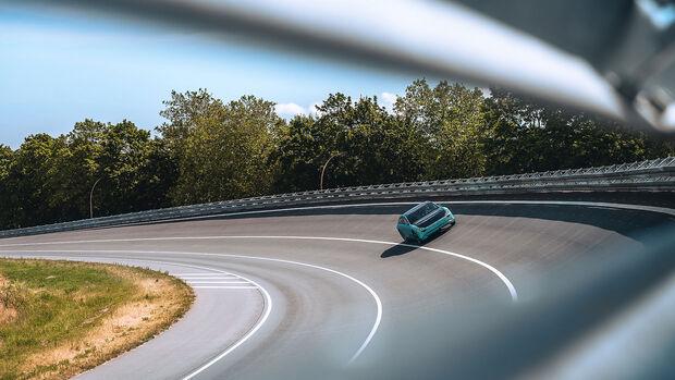 07/2021, Lightyear One Elektroauto Solar Prototyp Erlkönig
