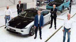 07/2021, Lightyear One Produktion bei Valmet Automotive