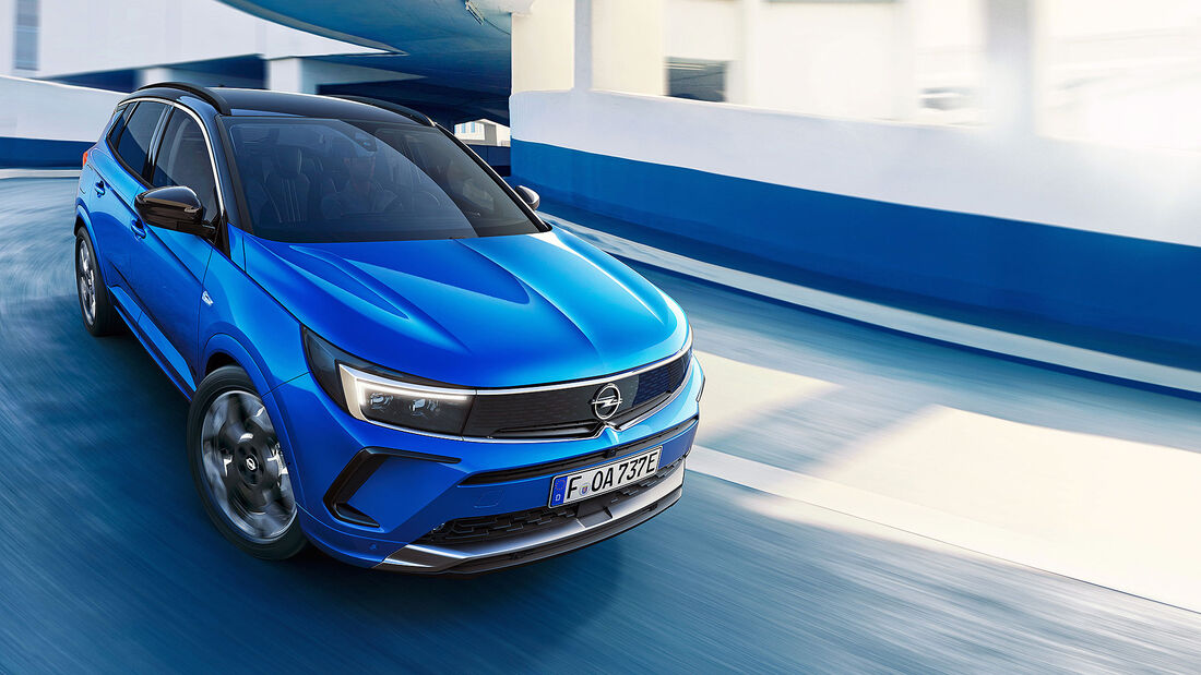 07/2021, Opel Grandland Facelift