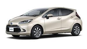 07/2021, Toyota Aqua 2021