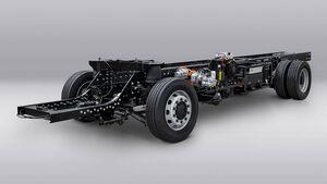 07/2021, Volta Zero Elektro Lkw Chassis Fahrgestell