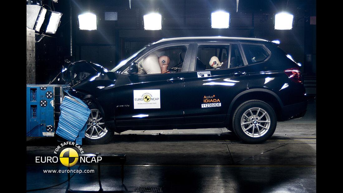 08/2011, BMW X3, Crashtest