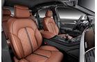 08/2013 Audi A8 facelift Sperrfrist 21.8.2013 S8 Innenraum