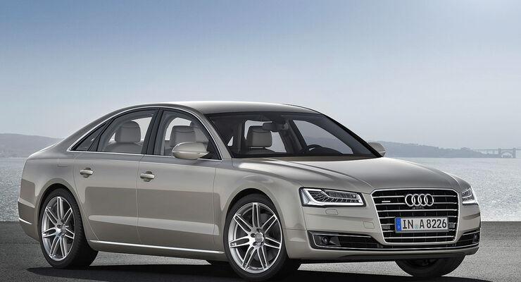08/2013 Audi A8 facelift Sperrfrist 21.8.2013