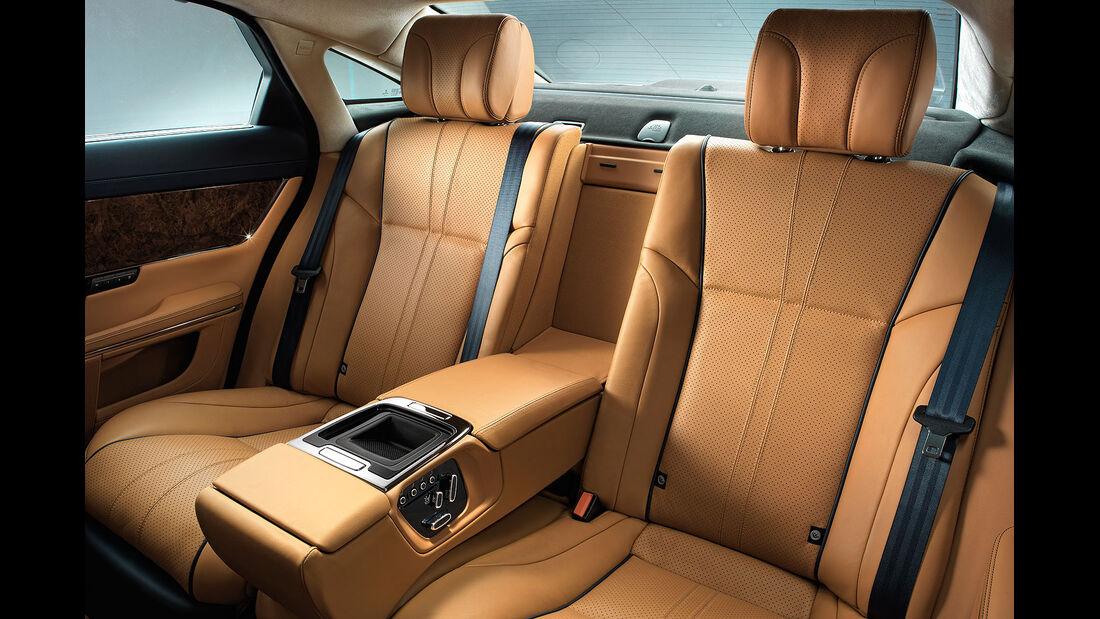08/2013 Jaguar XJ Modelljahr 2014, Facelift