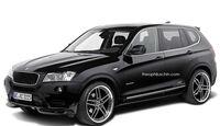 08/2014, AC Schnitzer BMW X3 ohne Kühlerniere