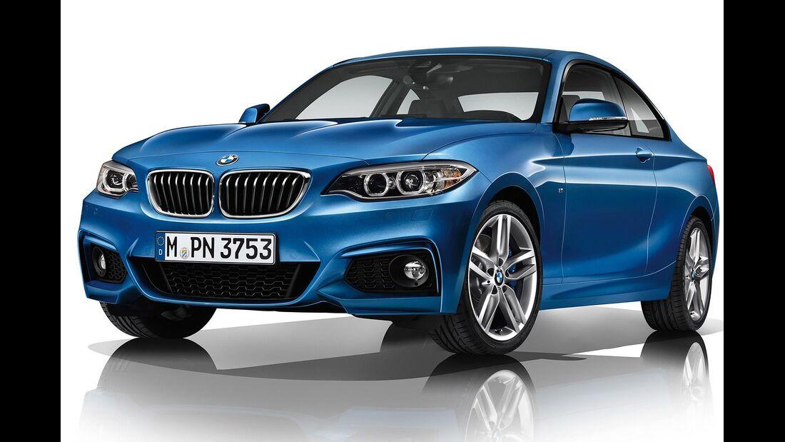 08/2014, BMW 2er M-Sportpaket