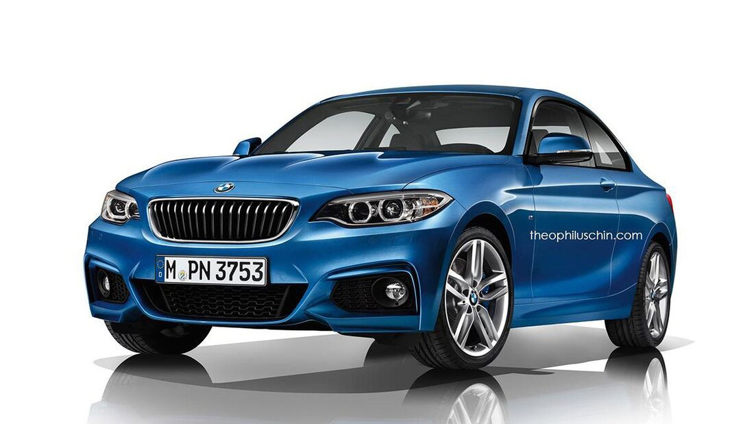 08/2014, BMW 2er M-Sportpaket ohne Kühlerniere