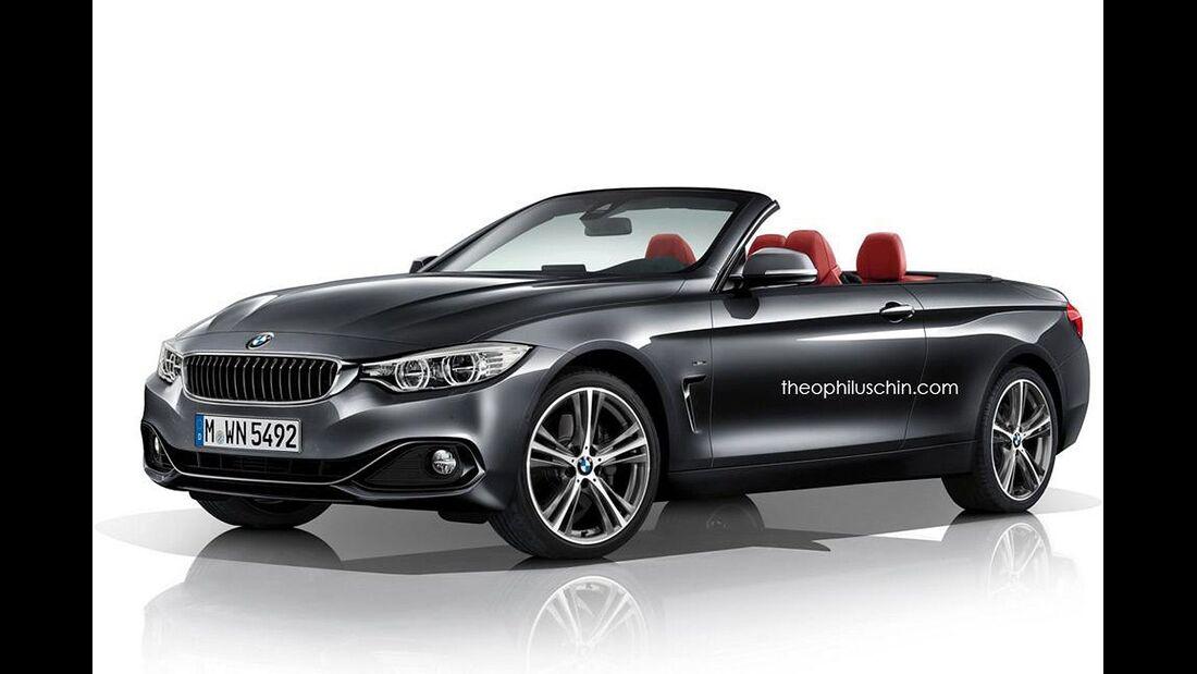08/2014, BMW 4er Cabrio ohne Kühlerniere