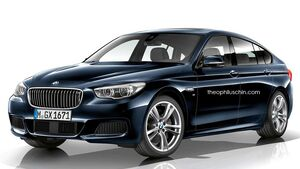 08/2014, BMW 5er GT M-Sportpaket ohne Kühlerniere