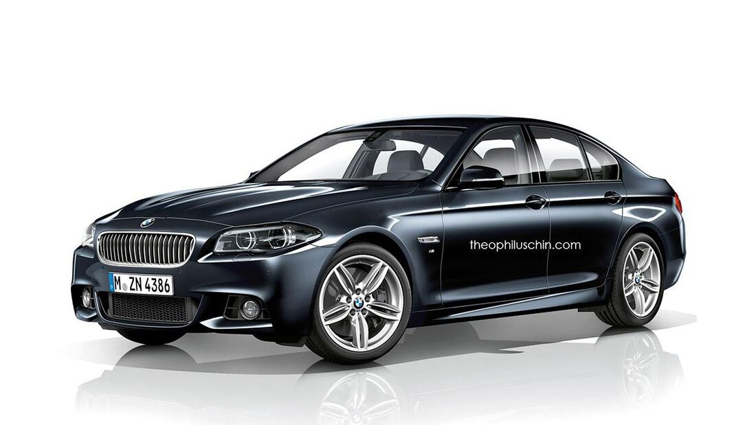 08/2014, BMW 5er M-Sportpaket ohne Kühlerniere