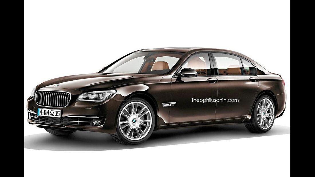 08/2014, BMW 7er lang ohne Kühlerniere