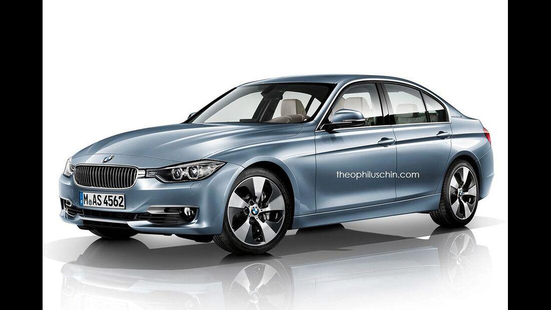 08/2014, BMW Active Hybrid 3 ohne Kühlerniere