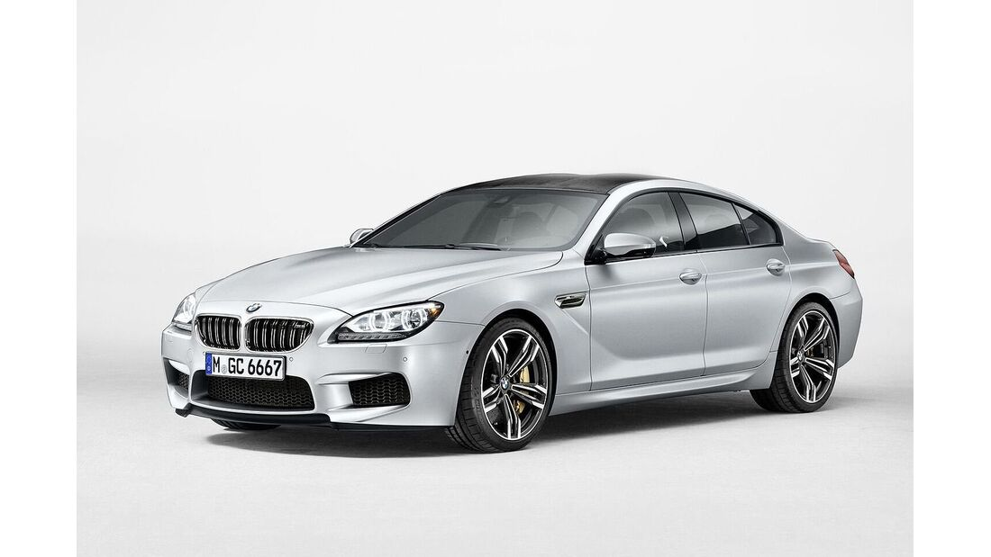 08/2014, BMW M6 Gran-Coupe
