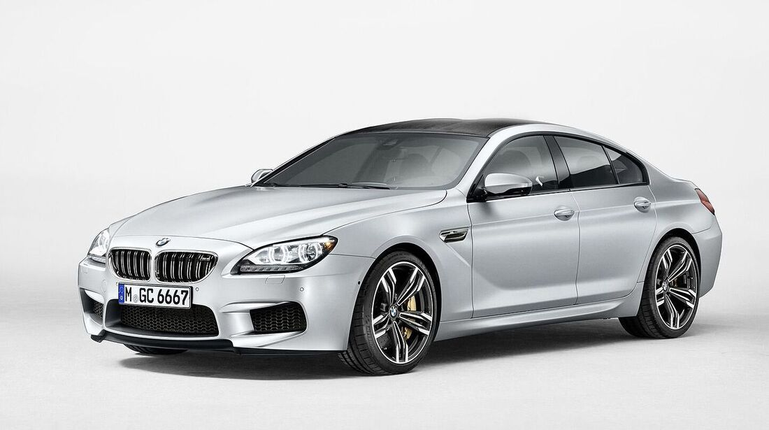 08/2014, BMW M6 Gran-Coupe