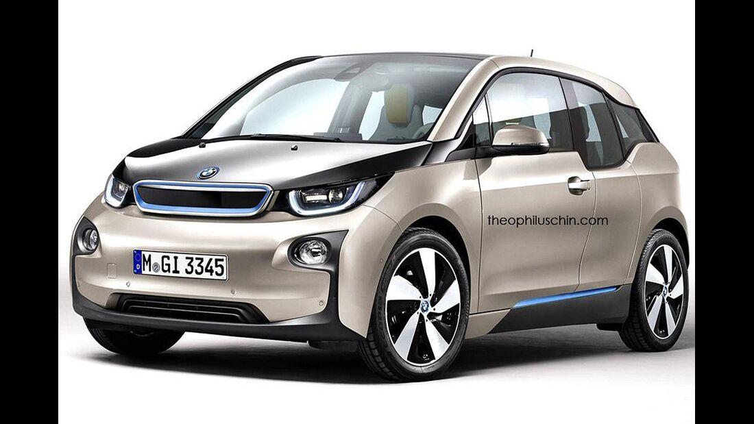 08/2014, BMW i3 ohne Kühlerniere