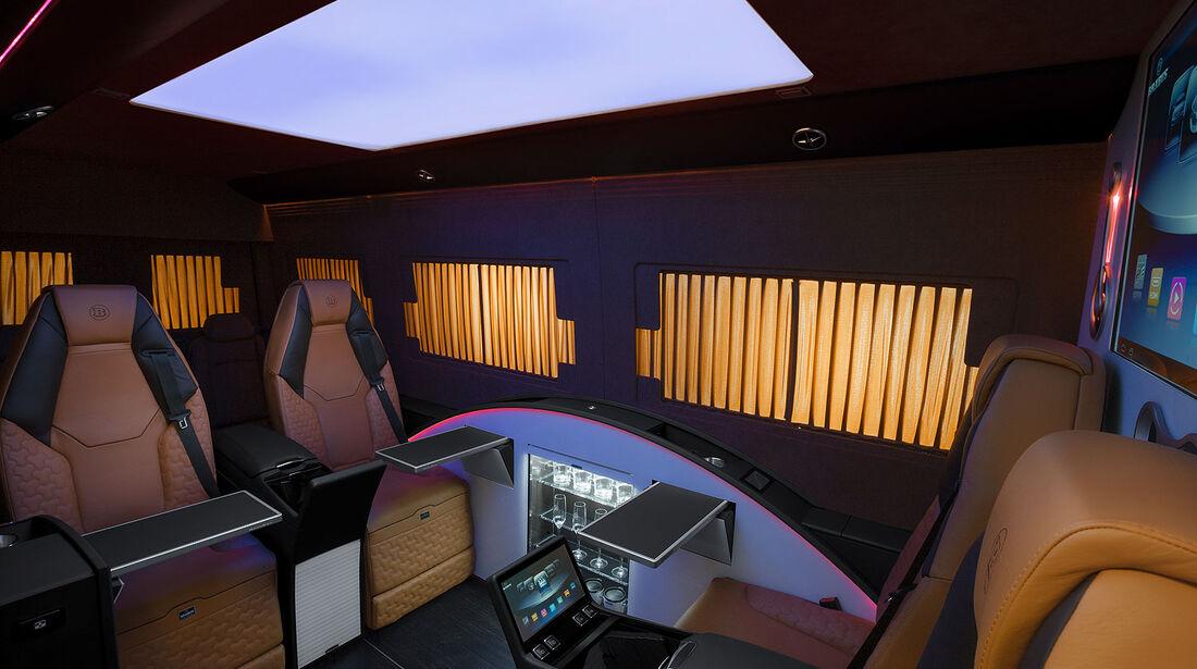 08/2014, Brabus Mercedes Sprinter Business Lounge