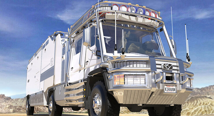 08/2014,  KiraVan, Exepditionsmobil
