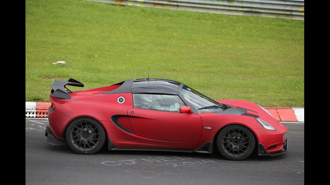 08/2014, Lotus Elise Cup R Erlkönig
