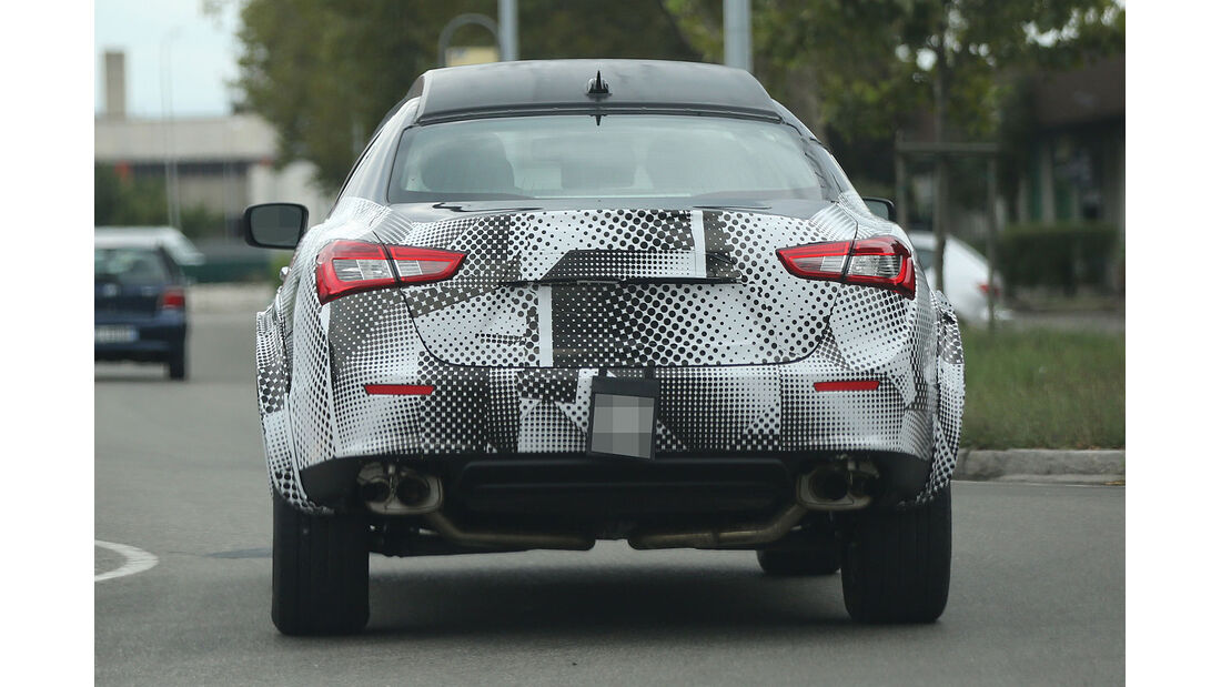 08/2014, Maserati Levante Erlkönig Muletto