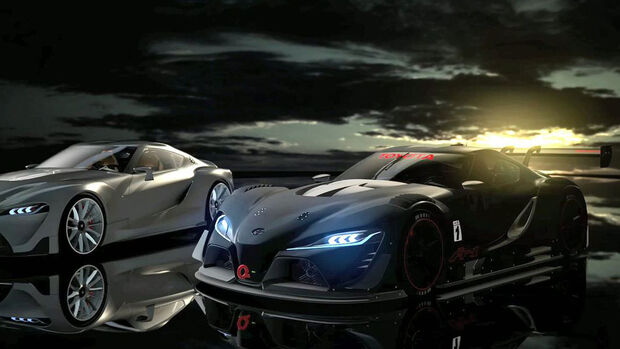 08/2014, Toyota FT-1 Sports Car Concept