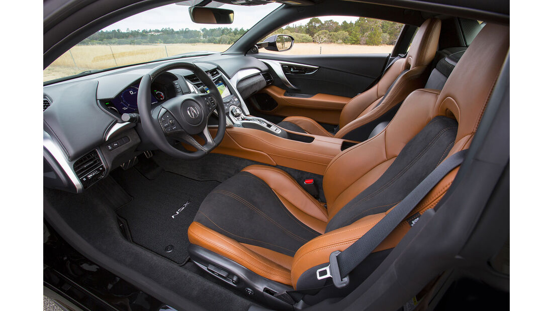 08/2015, Honda NSX Acura NSX Pebble Beach