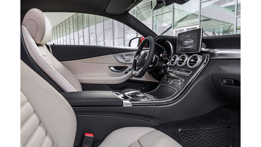 08/2015 Mercedes C Coupé
