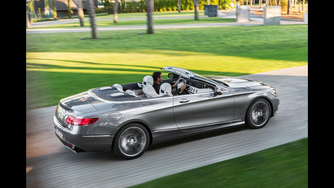 08/2015, Mercedes S-Klasse Cabrio 2.9.2015 Sperrfrist