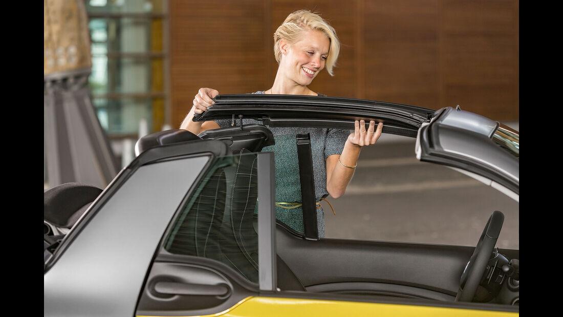08/2015, Smart Fortwo Cabrio 28.8.2015 Sperrfrist