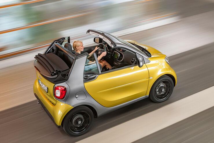 preise smart fortwo cabrio kleinwagen cabrio ab. Black Bedroom Furniture Sets. Home Design Ideas