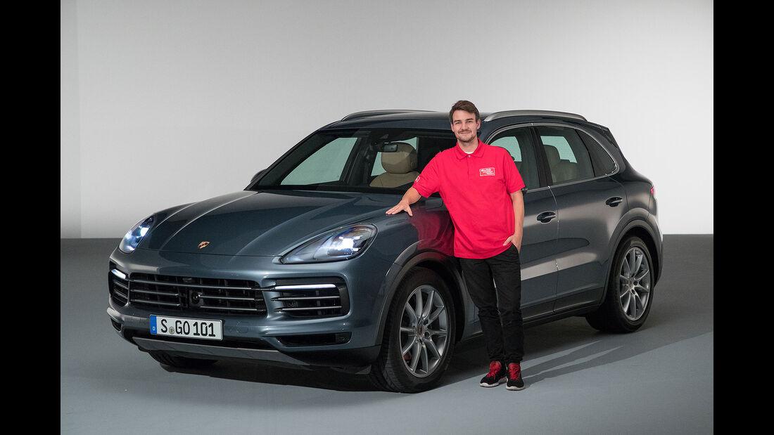08/2017, Porsche Cayenne Facelift
